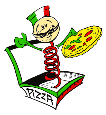 job series - Pizzaiolo Vector