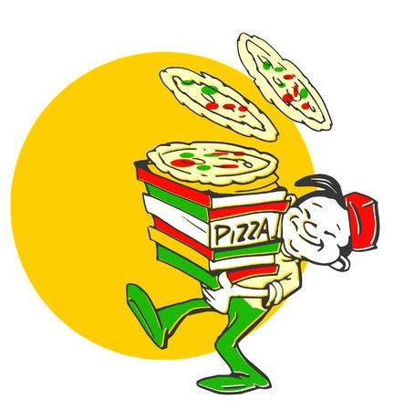 série d'emplois - Pizzaiolo