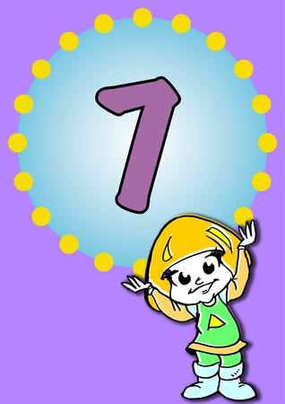 illustration for a birthday Stock Illustration - 10255404