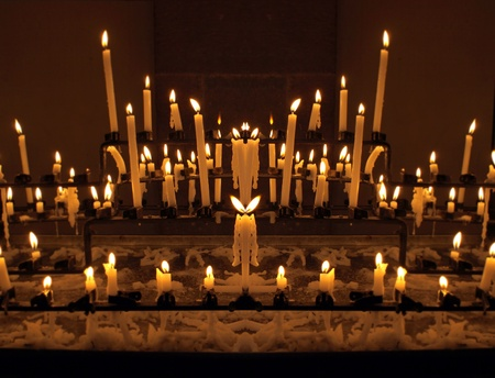 godly: Candles specular image, similar as figures