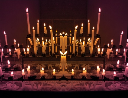 specular: Las velas de imagen especular, de manera similar como figuras