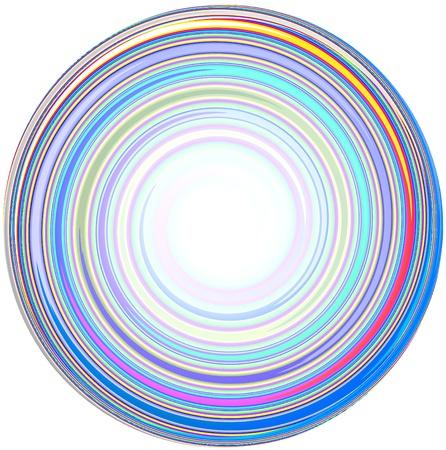 White Background and illustration of abstract Mandala Stock Illustration - 14582464