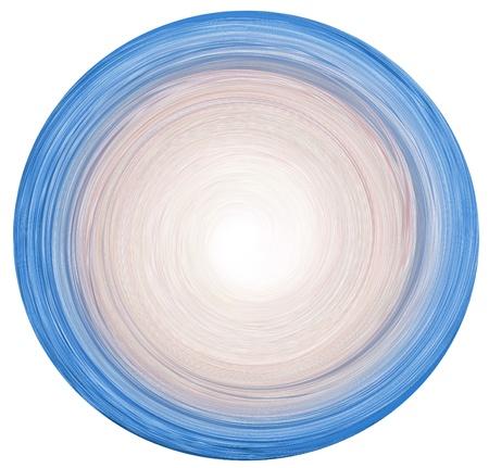 White Background and illustration of abstract Mandala Stock Illustration - 14582461
