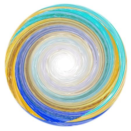 esoteric: illustration of abstract Mandala Stock Photo