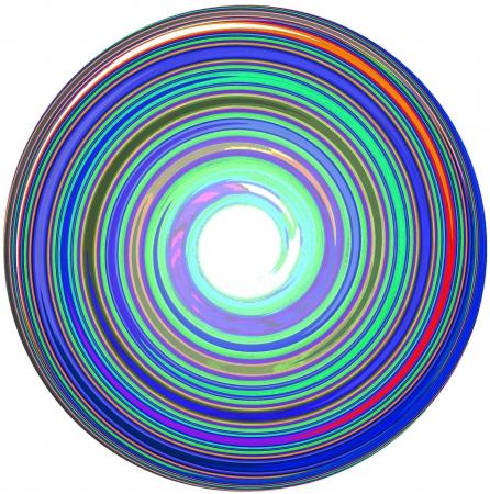 illustration of abstract Mandala Standard-Bild
