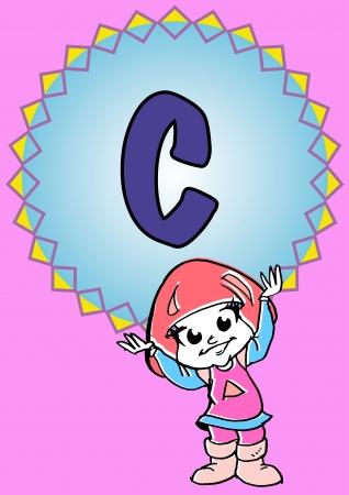 pedagogy: C-alphabeth for kids
