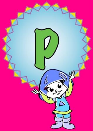 pedagogy: P-alphabeth for kids