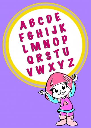 pedagogy: alphabeth for kids