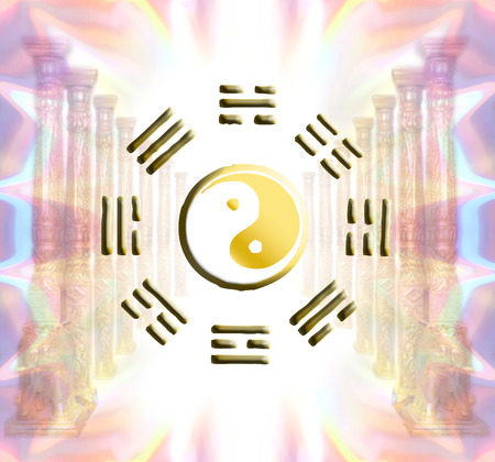 I-Ching spiritual concept Standard-Bild