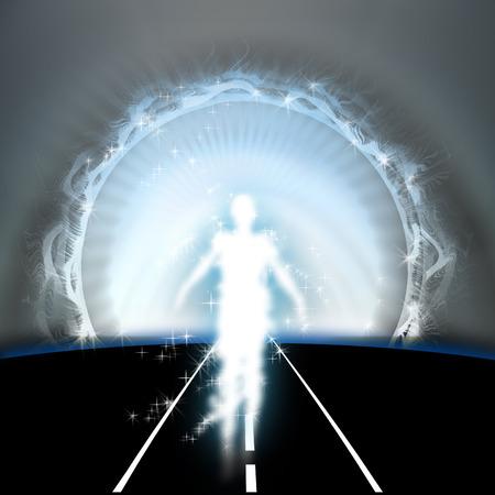 Life after death, afterlife Standard-Bild