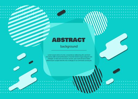 Geometric background. Minimalistic design, creative concept, modern diagonal abstract background. Geometric element. Abstract vector illustration. Ilustração