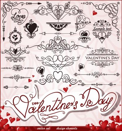 해피 발렌타인 데이, 사랑 일러스트