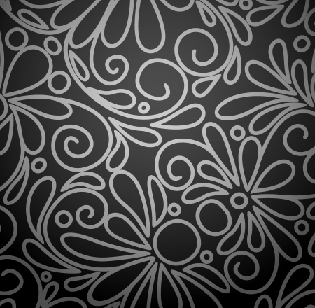Abstract flowers background  Illustration