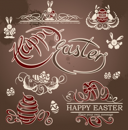 Happy Easter  Stock Vector - 15346198