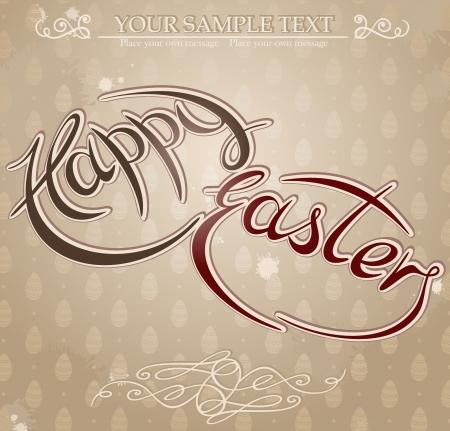 Happy Easter. Stock Vector - 15346194