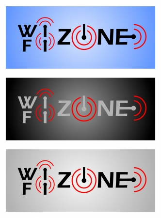 Wi-Fi Zone. Vector