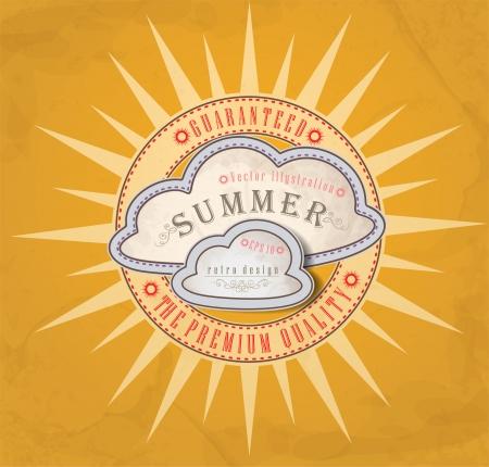 Summer background.  Stock Vector - 16939718