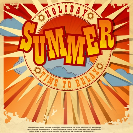 Summer background Stock Vector - 16940120