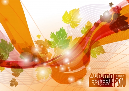 Abstract autumn background Stock Vector - 16940114