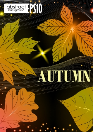 Abstract autumn background   Stock Vector - 16939723