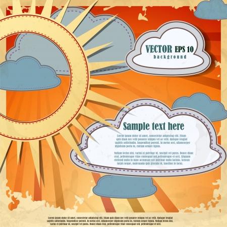 Summer background Stock Vector - 16952004