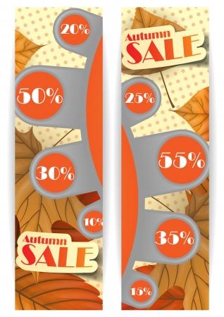 Autumn sale. Vector illustration. Eps 10. Stock Vector - 16952016
