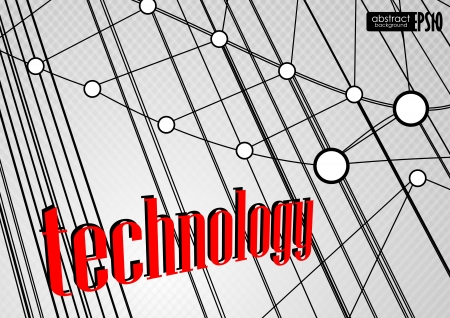 Technology background Stock Vector - 16952008