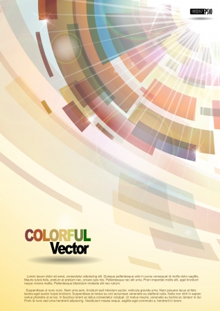 Abstract colorful background Stock Vector - 16952031