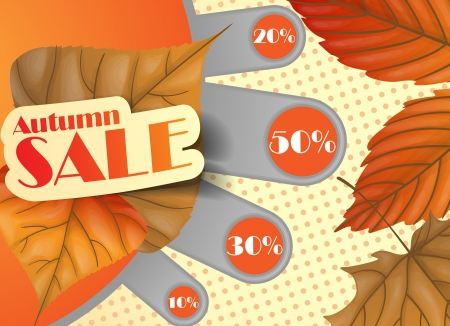 Autumn sale Stock Vector - 16952041