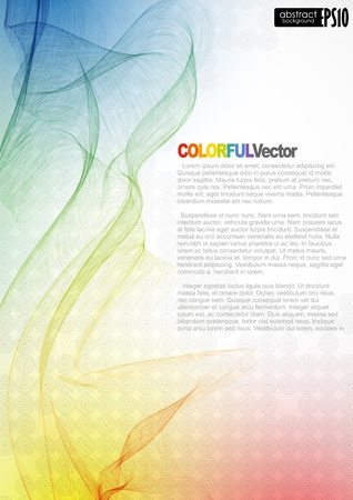 creative ideas: Abstract colorful background.  illustration.