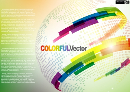 Abstract colorful background.  illustration.   Illustration
