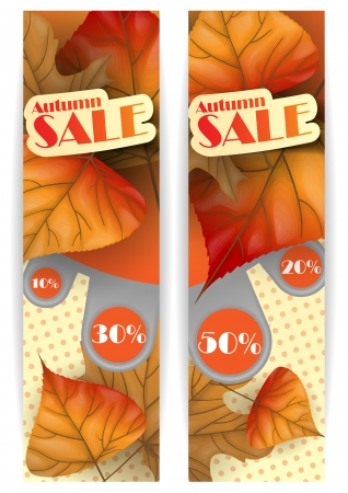 Autumn sale.  illustration.   Stock Vector - 16957541