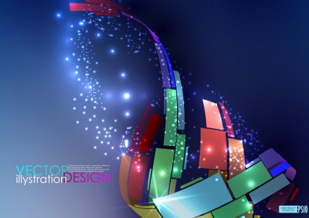 Abstract colorful background.  illustration.   Vector