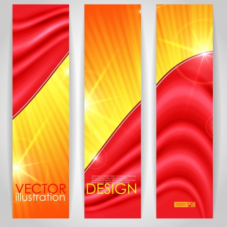 Abstract colorful banner. Vector illustration Vector