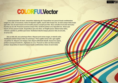 Abstract colorful background. Vector illustration. Vector