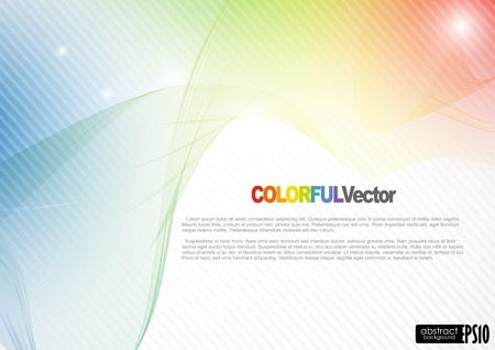 Abstract colorful background. Vector illustration.  Stock Vector - 16977335