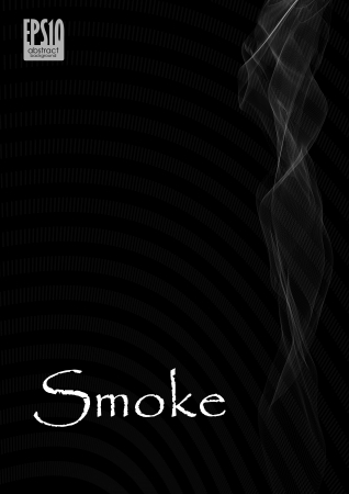 Smoke abstract background. Vector illustration. Stock Vector - 16977274