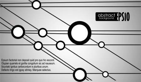 Technology background. Vector illustration Stock Vector - 16977356