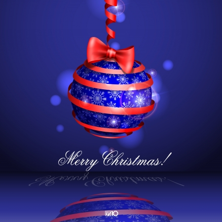 Christmas balls. Vector illustration Vector