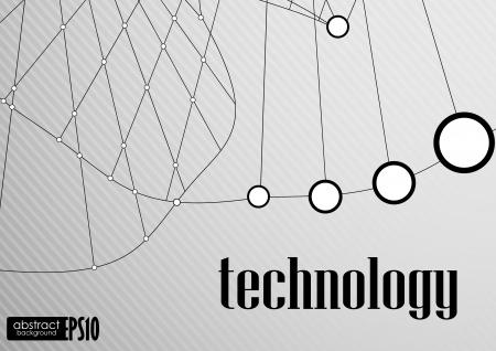 Technology background. Vector illustration. Vector