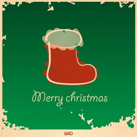 christmas sock: Calza di Natale.