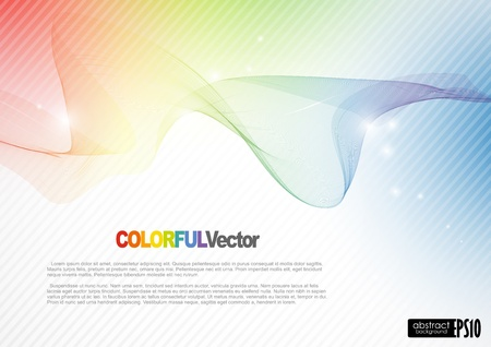 Abstract colorful background.  Illustration