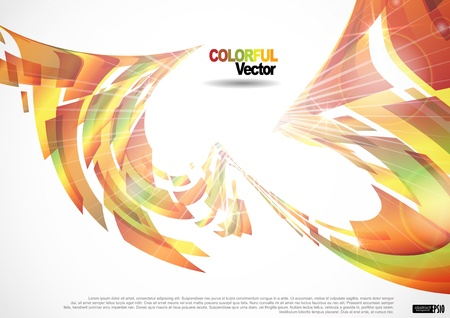Abstract colorful background. Stock Vector - 17206006