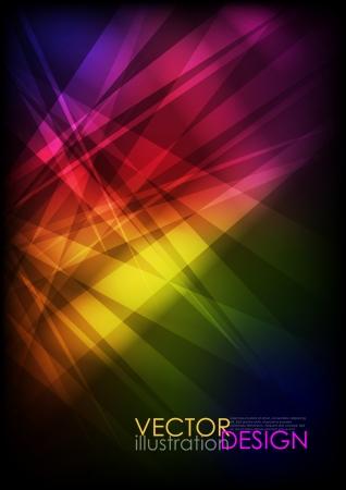 energy abstract: Broken glass texture.