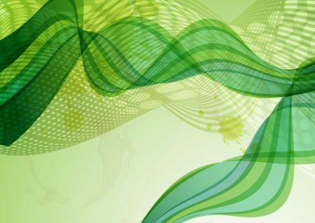 Abstract green background Stock Photo - 17205947