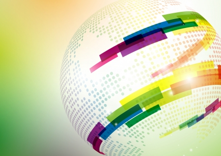 news background: Abstract colorful background.  Stock Photo