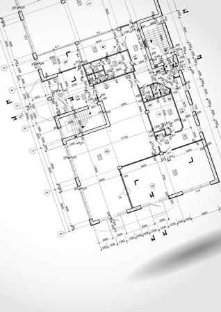 Architektonischen Hintergrund. Standard-Bild - 17258916