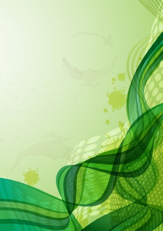 Abstract green background Stock Photo - 17281058