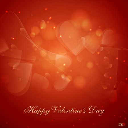 valentine s day background: Valentine s day or Wedding background  illustration