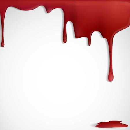 Dripping Blut Standard-Bild - 19715528